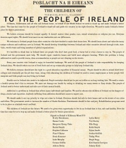 Proclamation by Kilkenny Mixed N S