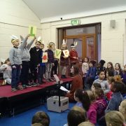 Room 1 hosted an Assembly all about LOVE